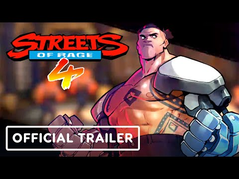 Streets Of Rage 4 - Official Floyd Iraia Trailer