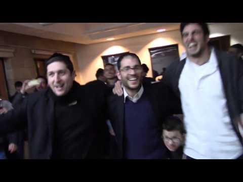 Fiesta de Januca en Aish HaTorah Yeshiva Latina 5776/2016