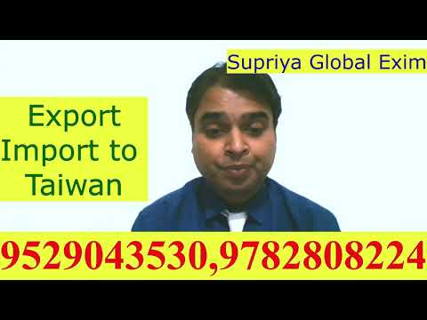 Export- Import To Taiwan