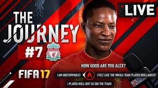 #LIVE || #FIFA17 - THE JOURNEY FT. ALEX HUNTER || BIG LEAGUE STAR || part #7