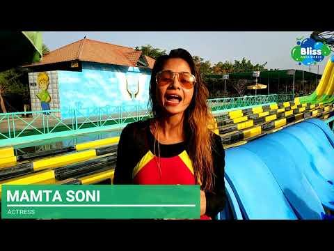 The star of Gujarat, Mamta Soni Visited Bliss Aqua World!