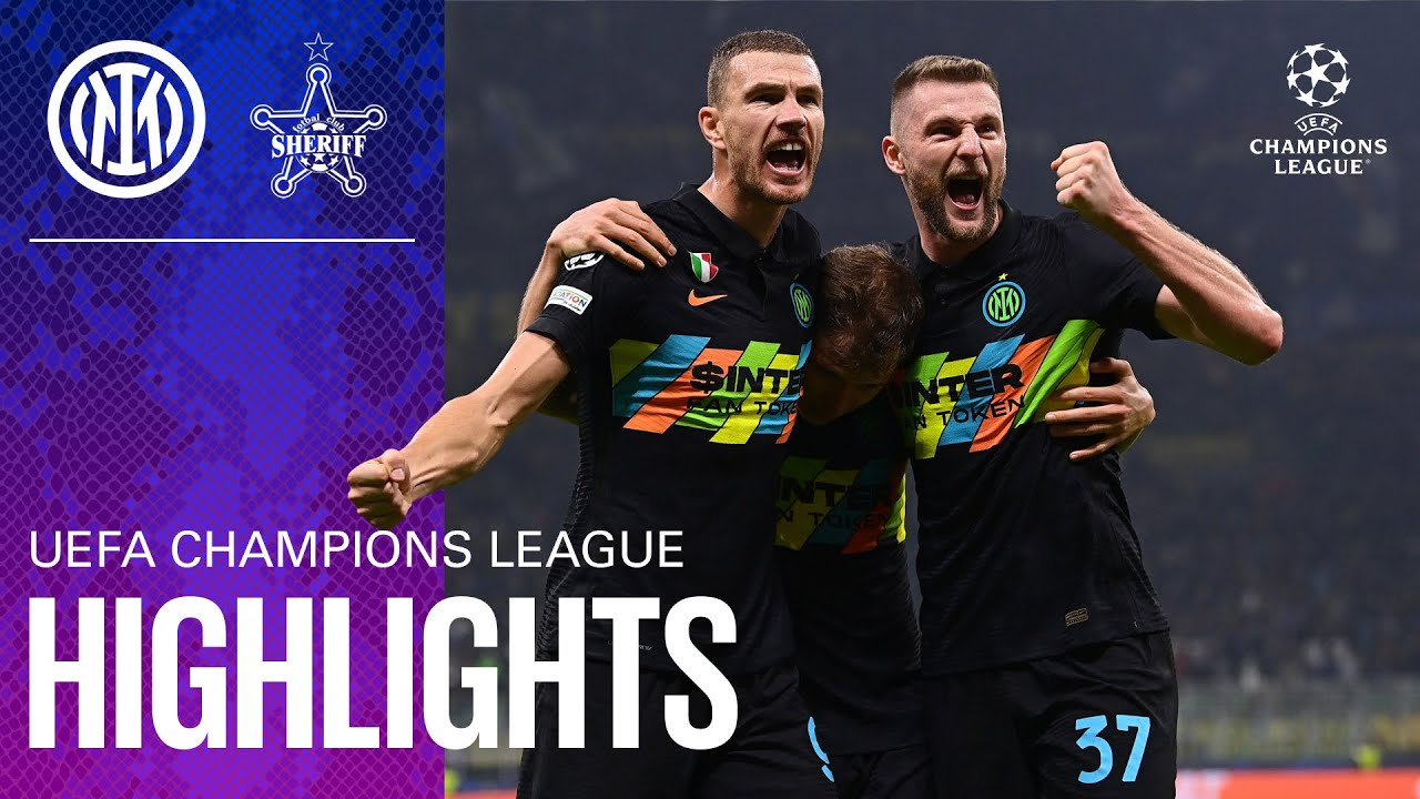 Download INTER 3-1 SHERIFF | HIGHLIGHTS | UEFA Champions League 2021/22 Matchday 03 ⚽⚫🔵