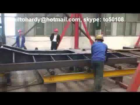 Semi Trailer Production Line