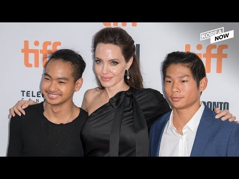 Hollywood star Angelina Jolie in Seoul to help college life of her adopted first son