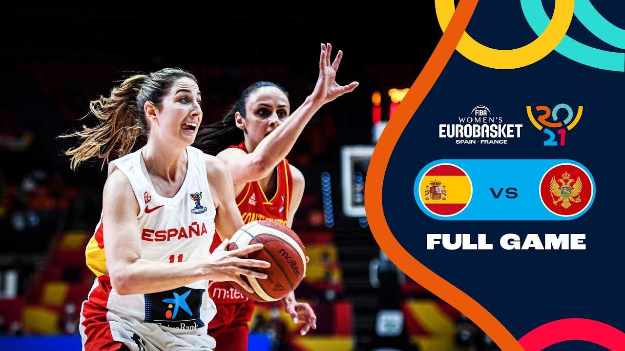 Spain v Montenegro   Full Game