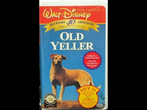 Opening To Old Yeller 1997 VHS