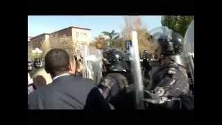 protestat e opozites perleshjet mes deputeteve te opozites dhe policis para kuvendit 17 11 2015