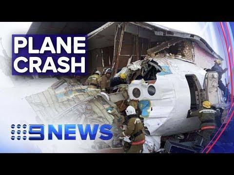 Multiple fatalities feared in Kazakhstan plane crash   Nine News Australia