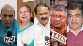 Political leaders react to Arun Jaitley's death