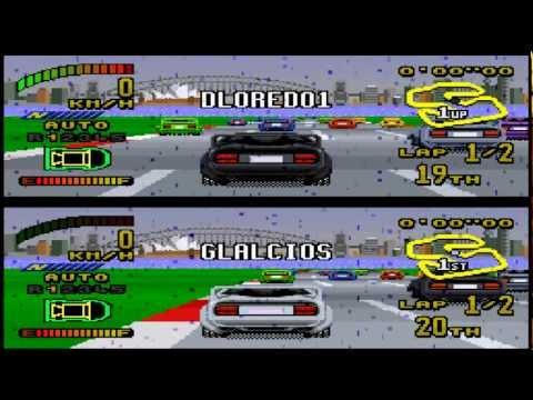 Gameplay - (SNES) Top Gear 2 - Etapa 1 Australasia