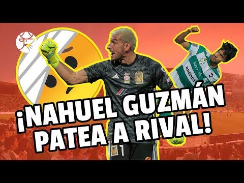 ¡IMPERDONABLE! I Nahuel Guzmán agrede a juvenil de Santos Laguna I Los Pleyers