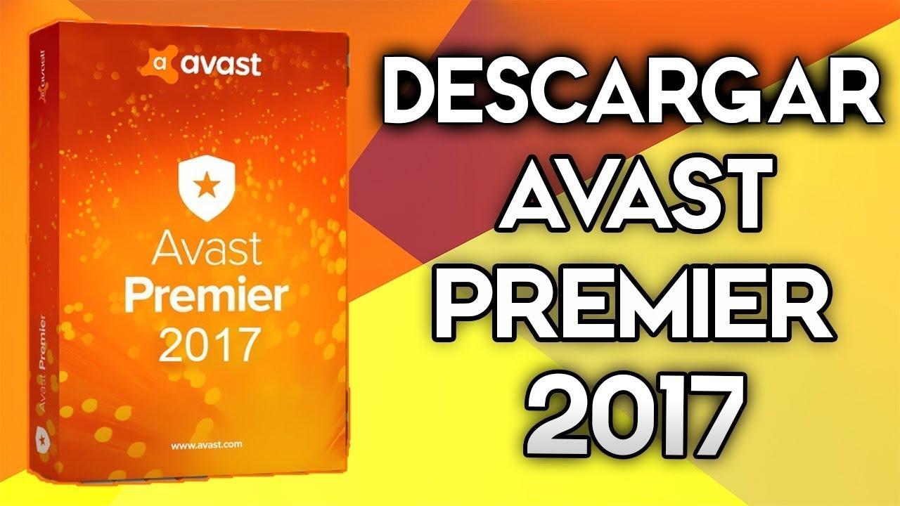 licencia valida para avast premier 2017