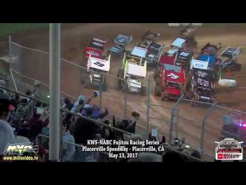 KWS-NARC @ PLACERVILLE SPEEDWAY - MAY 13, 2017