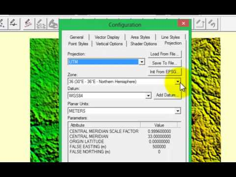 Remote sensing for all   Getting elevation data using Global Mapper