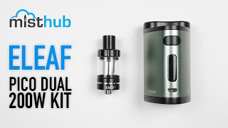 Eleaf Pico Dual with Melo III Kit Video