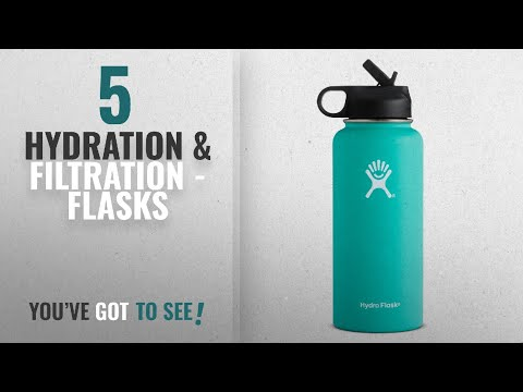 Top 10 Hydration & Filtration - Flasks [2018]: Hydro Flask Vacuum Insulated Stainless Steel Water
