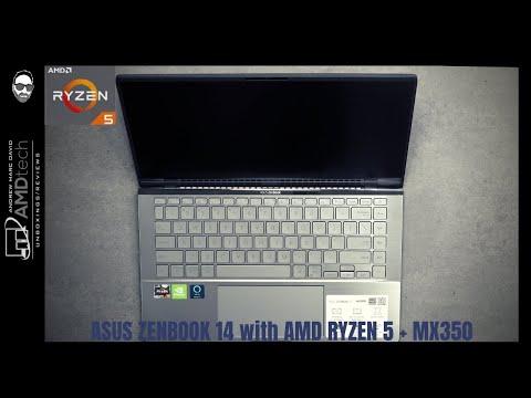 asus-zenbook-14-with-ryzen-5-+-mx350-(q407iq)-$550:-unboxing-&-first-look