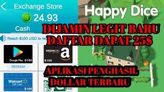 18 Juni 2020 Terbaru !! APLIKASI PENGHASIL UANG TERBARU DIJAMIN LEGIT !! Aplikasi HAPPY DICE