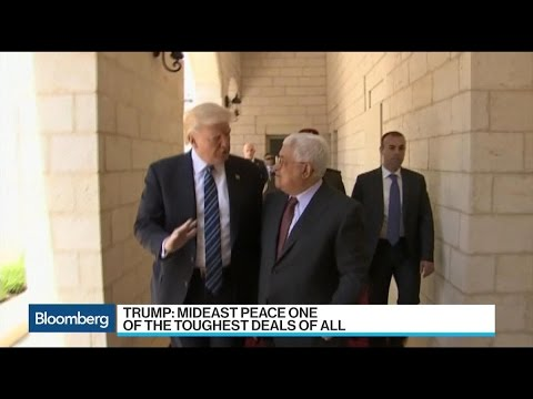 Trump Pushes Fear of Iran to Spur Mideast Peace