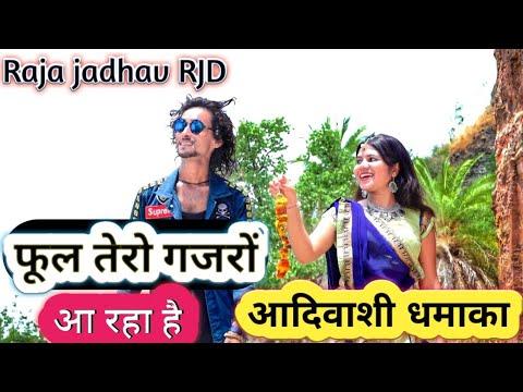 फूल तेरो गजरों आ रहा है 2019 का आदिवाशी धमाका Raja Jadhav RJD Nisarpur City Barwani MP
