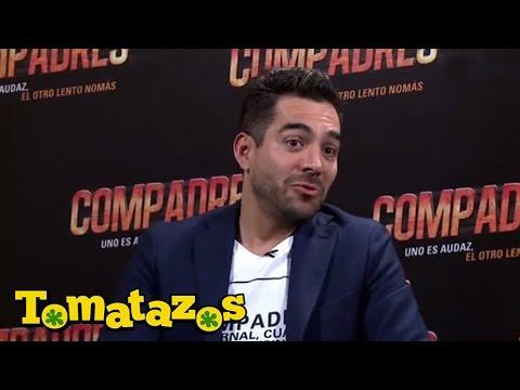 Entrevista: Omar Chaparro y Erick Elías nos hablan de Compadres