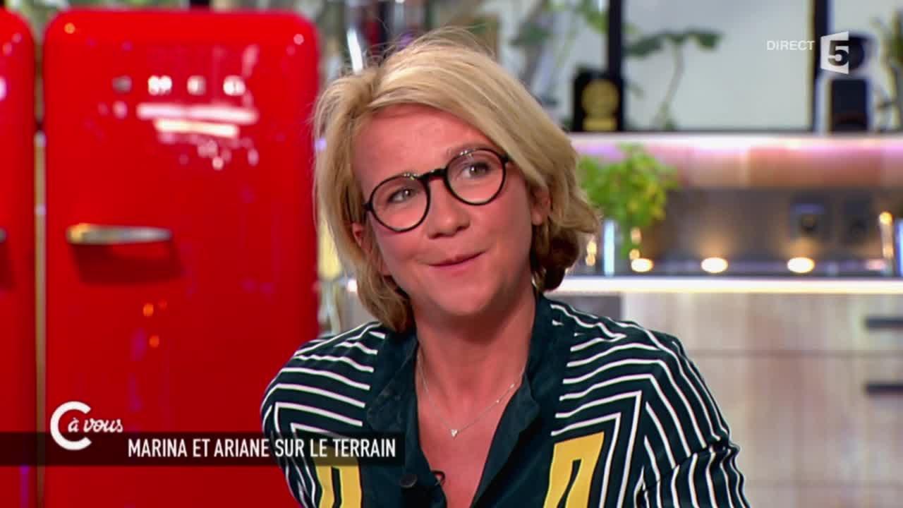 """Ariane Massenet """"Le Grand Journal aurait du changer de nom"""" - C à vous - 16/06/2015 #1"""