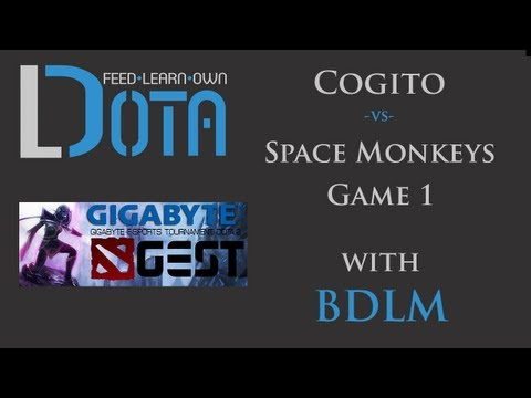 Space Monkeys vs Cogito - Game 1 (GEST Dota 2 Malaysia Qualifiers)