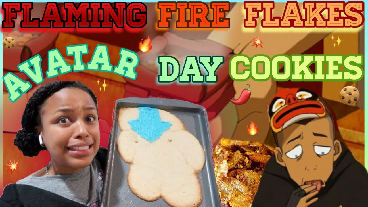 Download AVATAR DAY COOKIES & FLAMING FIRE FLAKES | Avatar The Last Airbender
