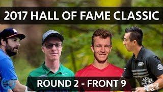 2017 Hall of Fame Classic - Rnd 2 Fnt 9 -  Paul McBeth, Grady Shue, Doug Marinovich, Peter McBride