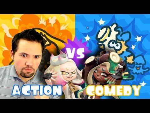 Splatoon 2 Team Action!!!