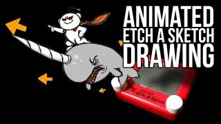Let Me (Actually) Animate That Etch A Sketch For You
