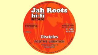 DISCIPLES - POSITIVE VIBRATION - JAH ROOTS HIFI RECORDS JRH12002A
