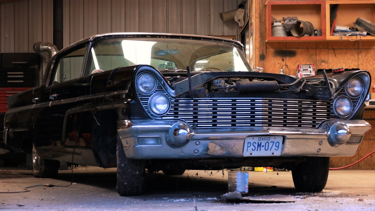 Barn Find Classic Car 1960 Lincoln Starts For First Time In 35 Years American Detour Ep 5