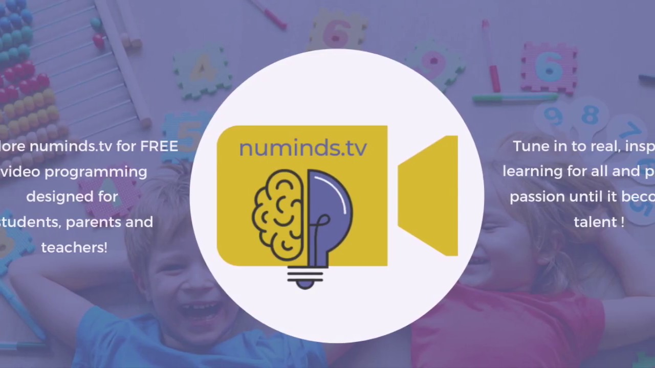numinds.tv - Real Inspired Learning On Demand for Students, Teachers and Parents!