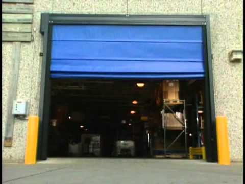 & Trakline Fold and Roll Doors by Rite-Hite Doors - YouTube