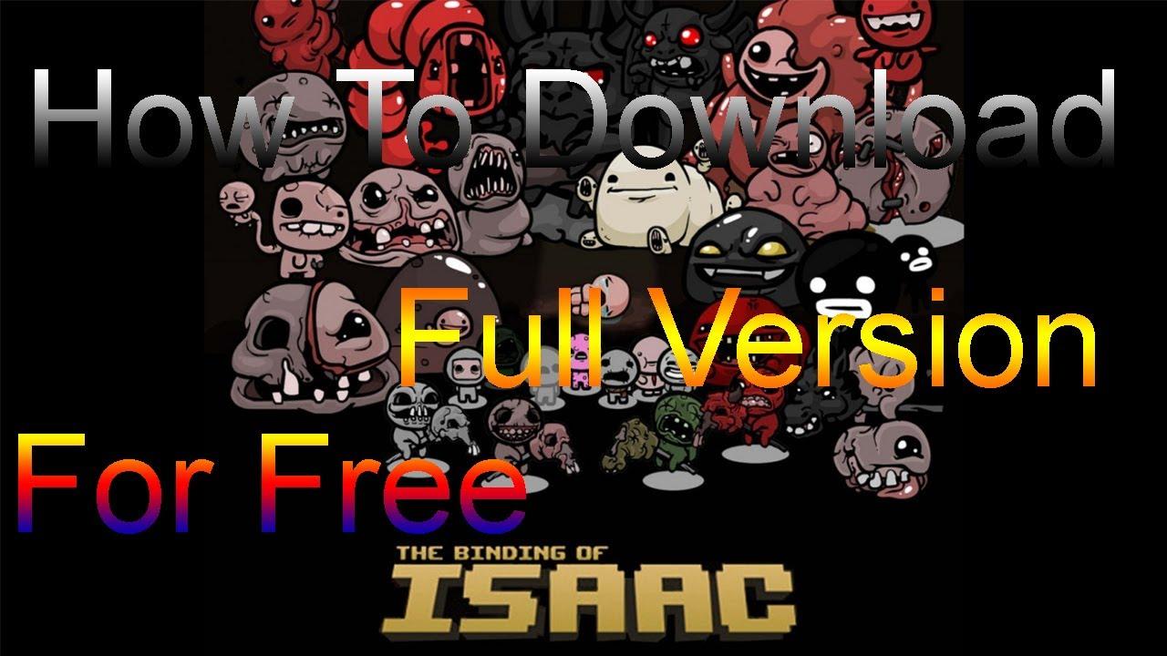 binding of isaac free download full version pc