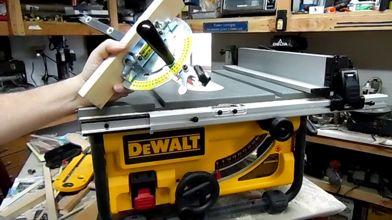 Dewalt Dwe7480 Table Saw Fine Tuned Review Great Hobby