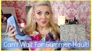Can't Wait For Summer HAUL!! | Sprinkle of Glitter | ad