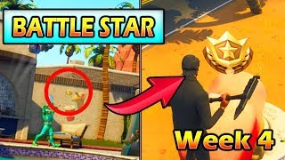 Battle Star Week 4 Location *SECRET* (The Road Trip Challenge) Fortnite Loading Screen