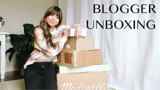 UNBOX WITH ME - Madewell, makeup, & more!
