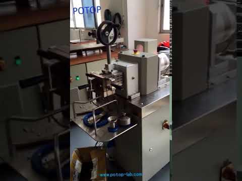 Torque rheometer for PVC crosslinking reaction