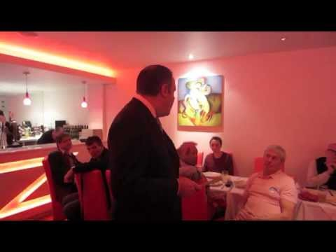 Margaret Thatcher Remembrance Dinner with Conor Burns MP & Mark Clarke 2014