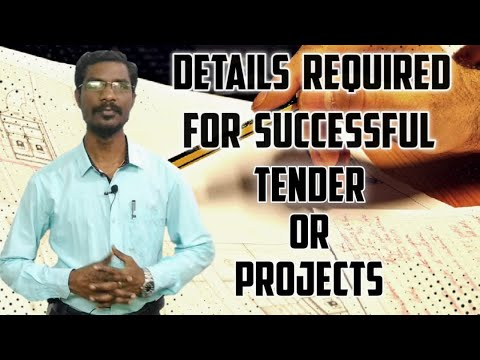 Video l 11 Details Required for Successful Tender/Projects