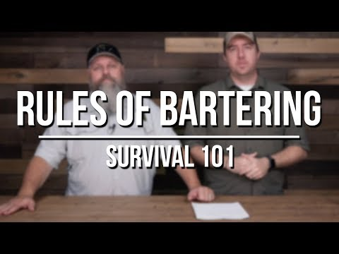Top 10 Rules of Bartering