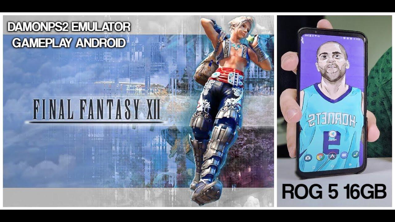 ROG 5 Final Fantasy 12 XII/Killzone PS2 Games DamonPS2 Pro emulator Android/Snapdragon 888