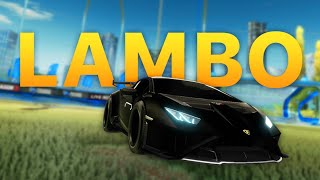 Freestyling With The New LAMBORGHINI In Rocket League...