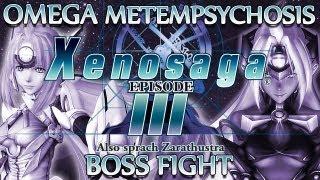 Ⓦ Xenosaga Episode 3 Walkthrough - Omega Metempsychosis Boss Fight