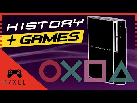 The PlayStation 3: HISTORY and GAMES | It's a Pixel THING -