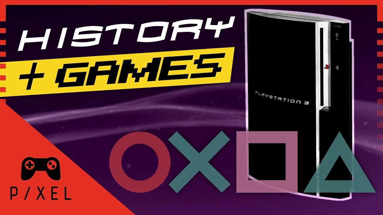 History Games For Ps3 : The playstation history and games it s a pixel thing