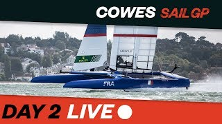 2019 Cowes SailGP RACE REPLAY // Final Day // Races 1-3 // SailGP